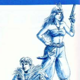 <i>Final Fantasy Legend II</i> Human Male & Female US Artwork.