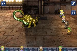 FFVI IOS Gold Dragon