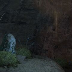 Stone with Rhalgr's symbol <i>Final Fantasy XIV</i>.