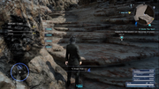 Magic Flask on the Rock of Ravatogh in FFXV
