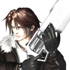 <i>Final Fantasy VIII</i> CG model.