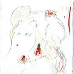 Рисунок Терры работы Ёситаки Амано для сентябрьского выпуска 2012 г. японского художественного журнала <i>Illustration</i>.