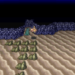 The Sunken Walse Tower on the Merged World (GBA).