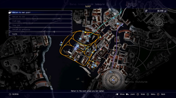 In-game map