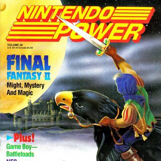 Mist Dragon on the cover of Nintendo Power volume 30.