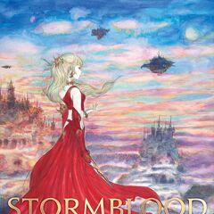 Arte para o <i>Stormblood</i>.