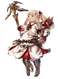 Lalafell White Mage Artwork XIV
