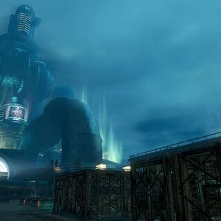Background of the Midgar arena in <i>Dissidia Final Fantasy NT</i>