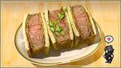 Сэндвич с мясом гарулессы