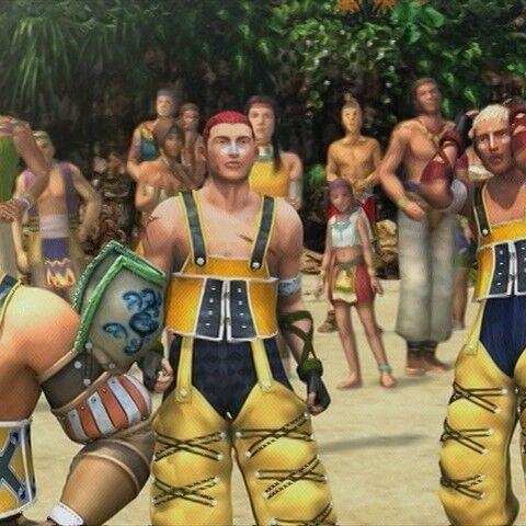 Jassu in the <i>Final Fantasy X-2</i> <a href=