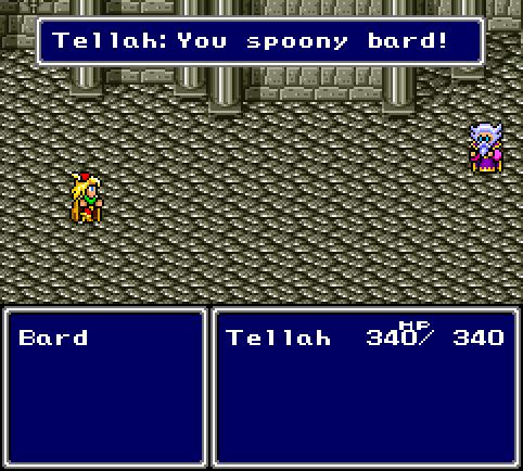 You Spoony Bard. n.3 από τα λάθη
