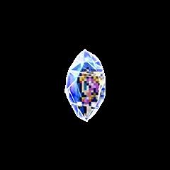Sarah's Memory Crystal.