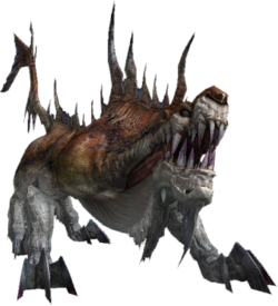FFXIII enemy Gorgonopsid