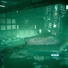Ядро реактора в <i>Final Fantasy VII Remake</i>.