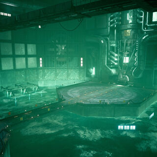 Reactor core in <i>Final Fantasy VII Remake</i>.