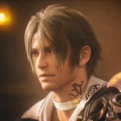 Thancred na abertura de <i>A Realm Reborn</i>