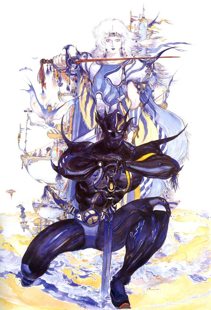 Cecil Final Fantasy Art