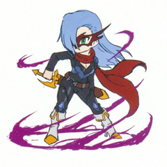Shine's sprite concept artwork.