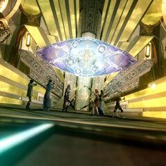 O Portão de Etro no Nartex em <i>Final Fantasy XIII</i>.