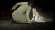 Ardyn hallucinates Aera in FFXV Episode Ardyn