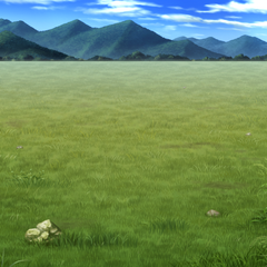 Battle background (grasslands) (Mobile/PC).