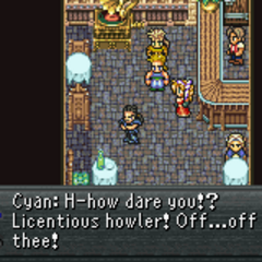 Cyan and the dancer of Nikeah (GBA).