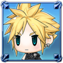 DFFNT Player Icon Cloud Strife PFF 002