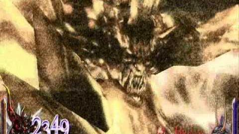Dissidia 012 Final Fantasy - Feral Chaos's EX Burst