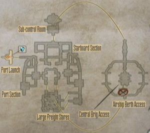 FF12 Map - Dreadnought Leviathan