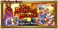 FFRK The Burning Blade! Event