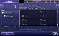 FFV iOS Ability Menu