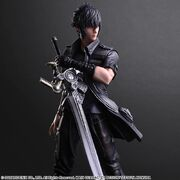 Noctis Play Arts Kai with Engine Blade from FFXV