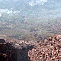 A canyon.