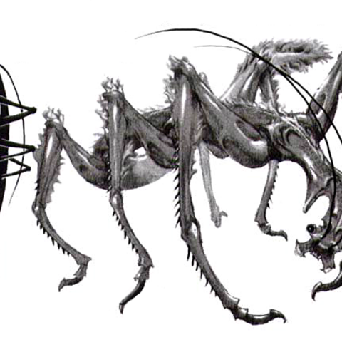 Artwork of the Creeper.