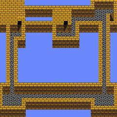 Castle Palamecia's Fifth Floor (NES).