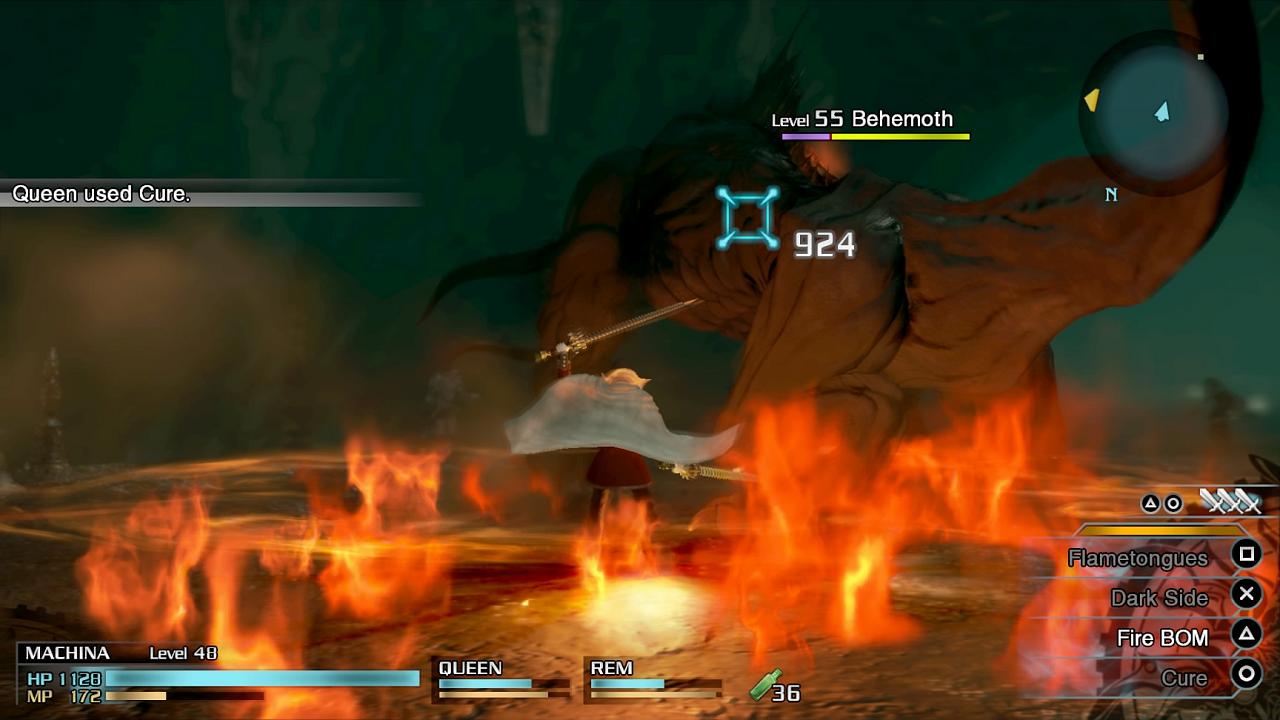 Fire BOM Type 0 HD List of Final Fantasy Type 0 abilities