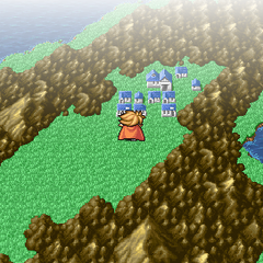 Gaia, as seen in the World Map (PSP).