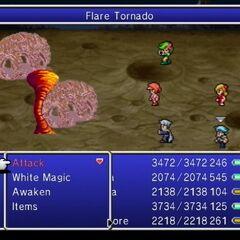 Flare Tornado.