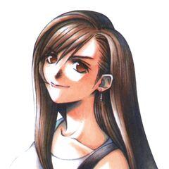 Menu portrait artwork by Tetsuya Nomura.
