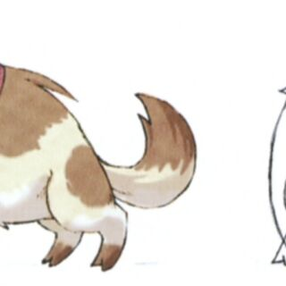 Concept art for a dog for <i><a href=