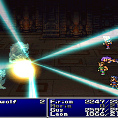 Bolt10 cast on all enemies in <i><a href=