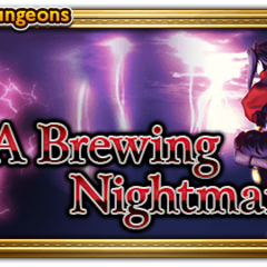 A Brewing Nightmare banner.