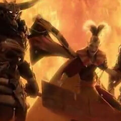 Отсылка в <i>Dissidia Final Fantasy</i>.