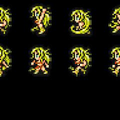 Set of Barbariccia's sprites.