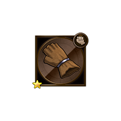 Leather Glove in <i><a href=