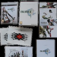Adesivos da Edição de Colecionador Limitada.