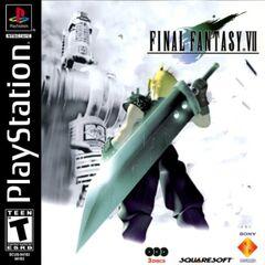 Capa norte americana para o PlayStation.