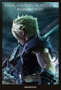 Final Fantasy VII Remake Postcard Book cover