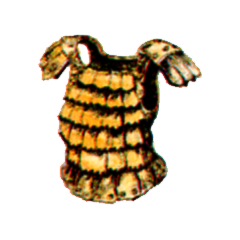 Official art of Leather Armor from <i><a href=