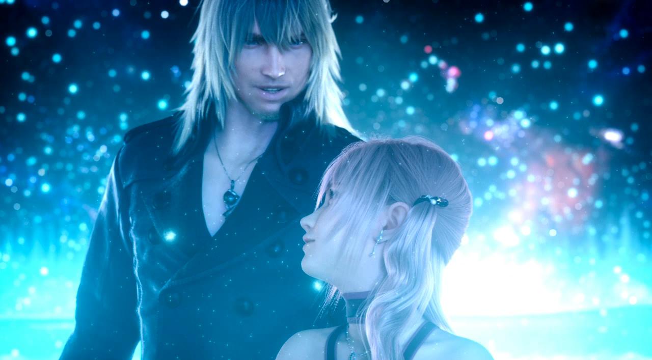 Final Fantasy Snow And Serah Anime